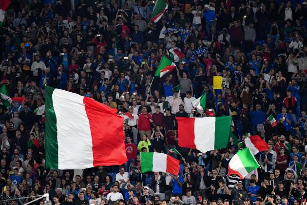 Italy gives OK for fans at Euro 2020 matches in Rome