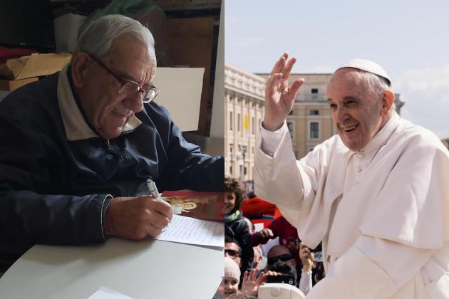 Pope personally congratulates Fr Dionysius Mintoff on 90th birthday