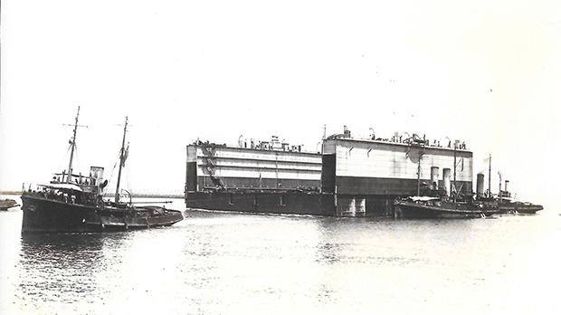 The arrival of the Chatham section on August 22, 1925.