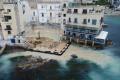 Construction site once again pollutes Balluta sea