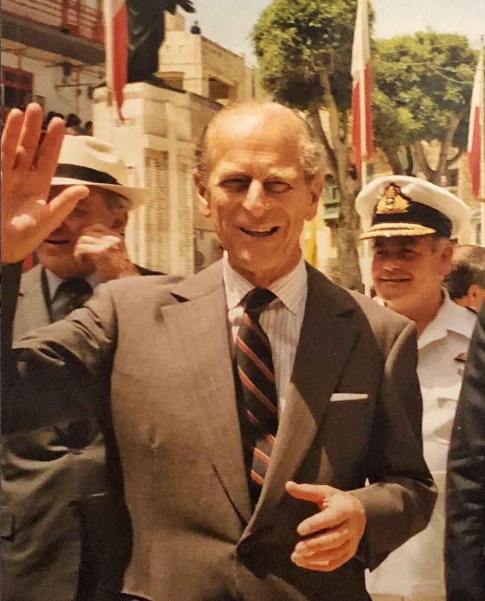 Philip in Malta in 1992. Photo: Stef Mizzi