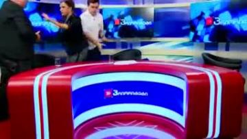 Georgian politicians duke it out on live TV