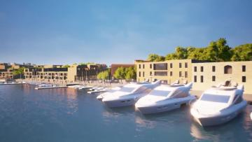 A masterplan video provided by Manoel Island developers Midi.