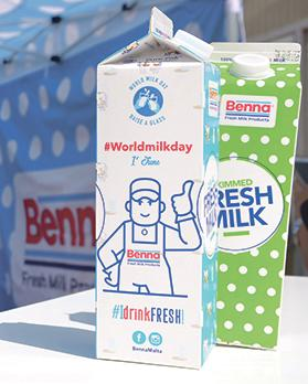 Distributors and grocery store owners are telling customers to expect a price hike in milk soon. Photo: Benna