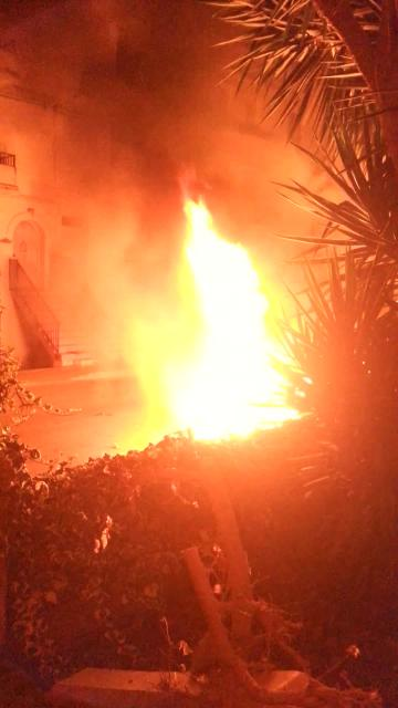 Car fire in the middle of the night wakes up Marsascala residents