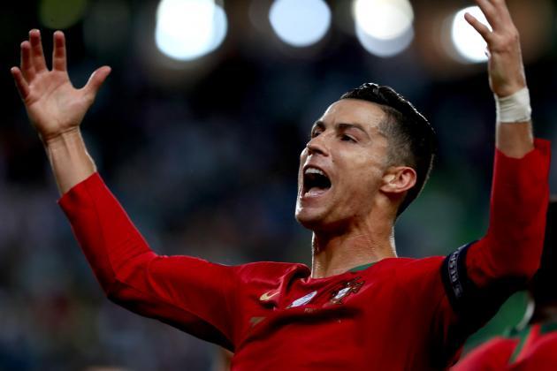 Ronaldo edges closer to century of international goals in Portugal win
