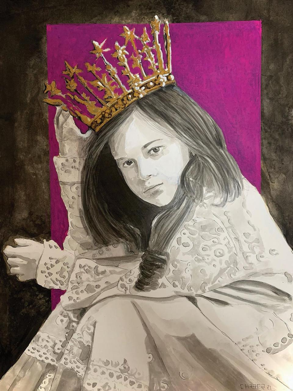 The Girl with the Crown