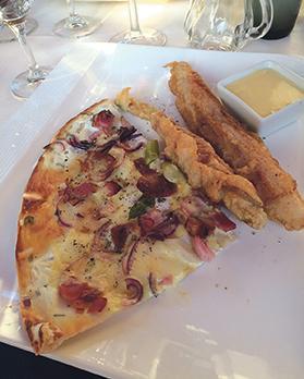 An asparagus dish
