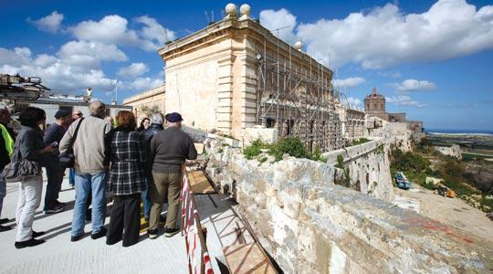 An open day was held in Mdina yesterday. Photo: Darrin Zammit Lupi