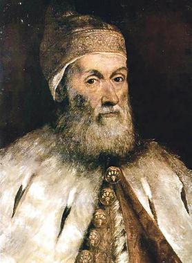 Gerolamo Priuli, Doge of Venice, by Tintoretto, Odessa Museum of Western and Eastern Art.