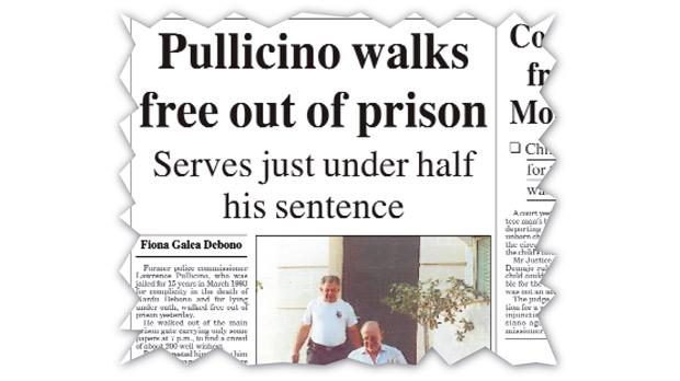 How Times of Malta reported Lawrence Pullicino being freed in August 2000.