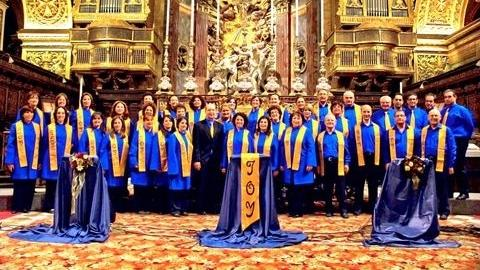 The Joy Gospel Singers in concert at St John's CoCathedral.