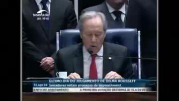 Watch: Brazil Senate votes to impeach President Rousseff