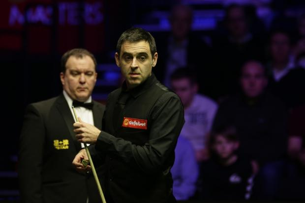 Ronnie O'Sullivan is out of this year's World Championship.