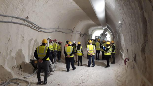 The tunnels will mark a major upgrade to the island's water supply