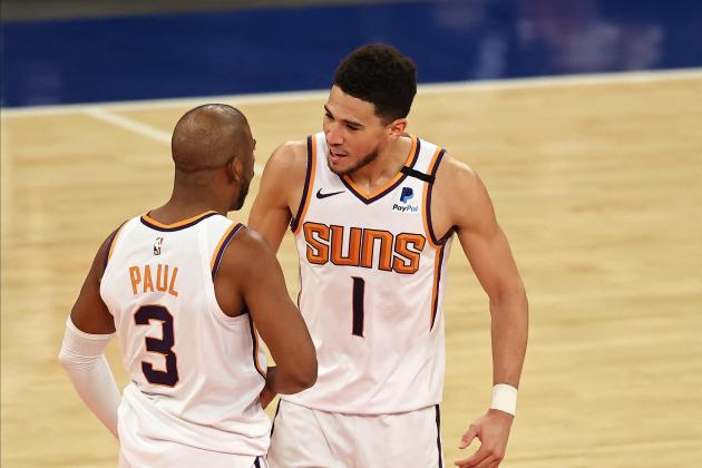 Booker, Paul shine as Suns halt Knicks win streak