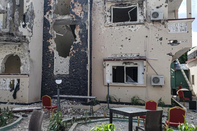 26 killed, 56 injured in terror attack on popular hotel in Somalia