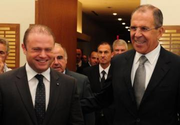 Russia denies interference in Malta's affairs