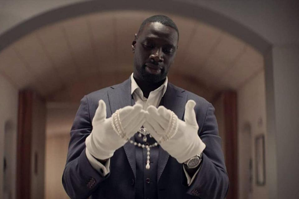 Omar Sy plays Assane Diop, the protagonist of the Netflix series 'Lupin'.