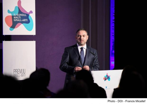 Minister Owen Bonnici during the nominations night.