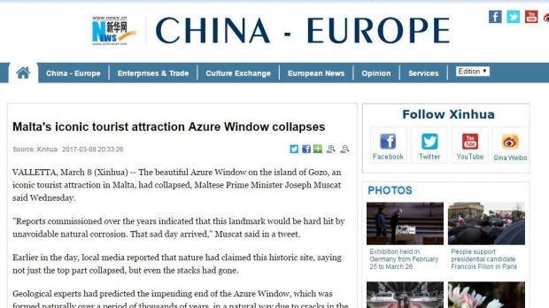 Xinhua press agency.