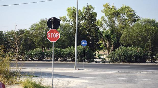 New traffic signs have already been put up across the area. Photos: Mark Zammit Cordina