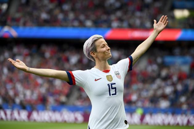 US World Cup superstar Rapinoe wins women's Ballon d'Or