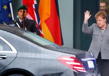 May asks for help, Merkel says no more Brexit negotiations