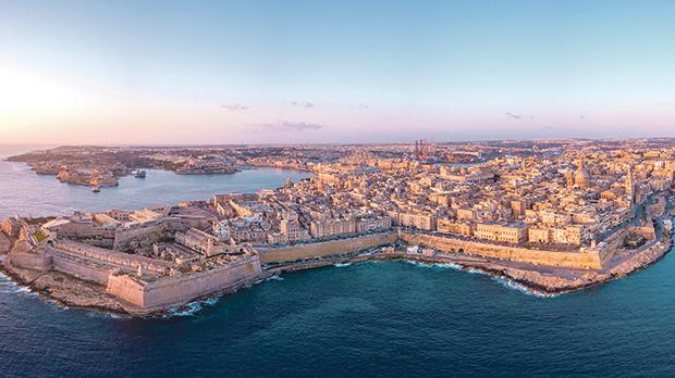 Valletta: Old walls give a clear definition of historic towns, reinforcing their identity.