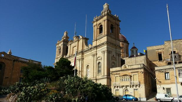 Vittoriosa's Cathedral. Photo: David Micallef