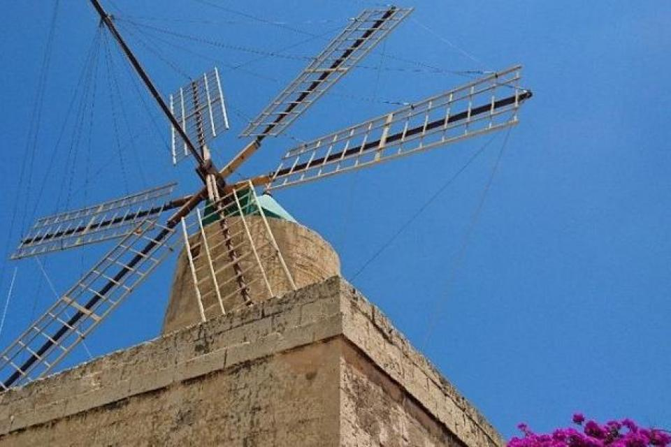 Ta' Kola windmill. Photo: Heritage Malta