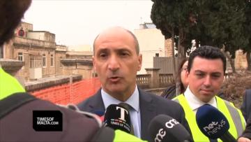 Watch: Fearne insists patients safe as part of Mount Carmel evacuated | Health Minister Chris Fearne said the intention was to solve the issues and not just patch them over. Video: Chris Sant Fournier