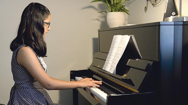 Alessia Bonnici: She speaks through music instead of words. Photos: Matthew Mirabelli