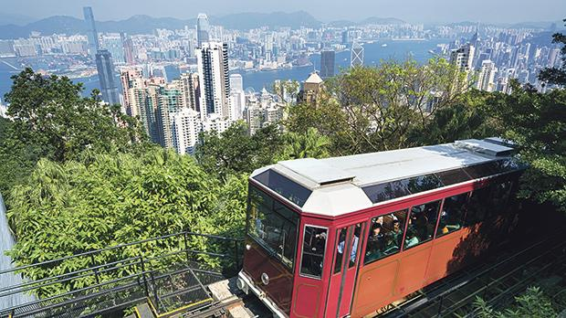 The Peak Tram in Hong Kong is celebrating its 130th anniversary this year.