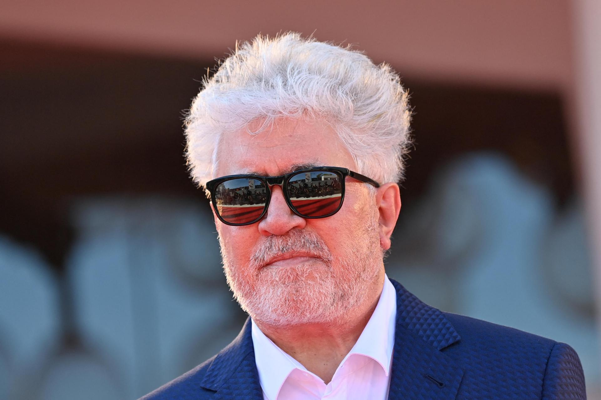 Spanish director Pedro Almodovar is going to curate one of the temporary galleries dedicated to works of individual filmmakers. Photo: Alberto Pizzoli/AFP