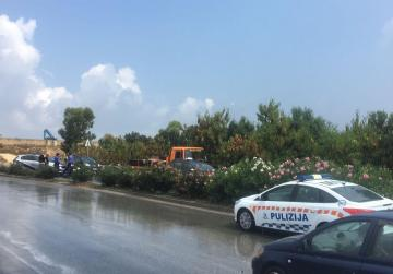 Tal-Barrani crash leaves one hospitalised