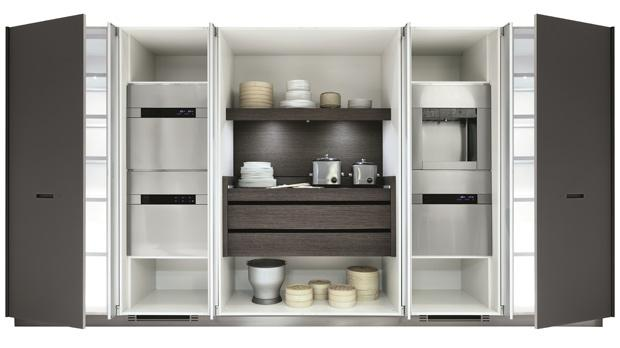 Beau Kitchen In A Cupboard. Pocket Doors U2013 Which Can Hide A Fully Equipped  Kitchen U2013 Can Open And Close