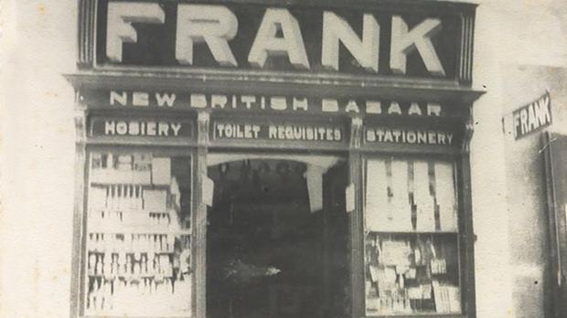Franks founder Salvatore Abela (right) first opened the doors of Franks bazaar in 1893.
