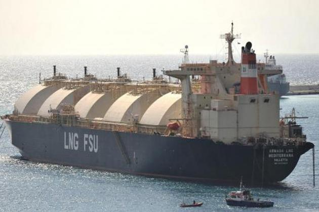 Delimara LNG tanker 'repositioned' as weather deteriorates