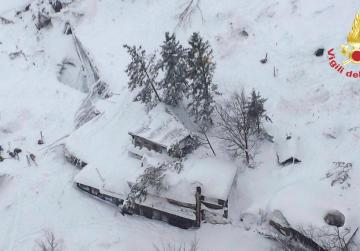 Watch: Avalanche swallows up Italian hotel, up to 30 feared dead under snow