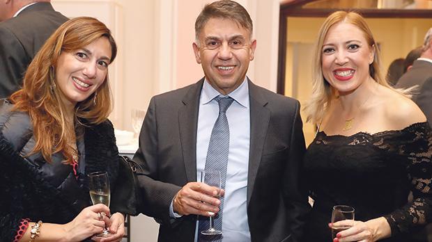 Claire Busuttil, Edwin Busuttil and Lorraine Cassar.