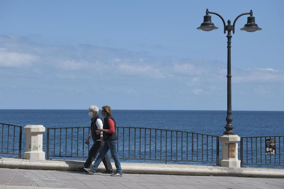 Exercising on the Sliema front has become a daunting task. Photo:Matthew Mirabelli