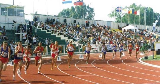 Athletics Malta were given full responsibility for all facilities at the Matthew Micallef St John athletics stadium.