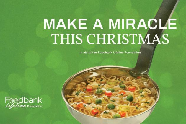 JCI Malta supports the  foodbank this winter