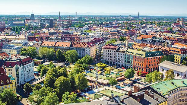The Viktualienmarkt is a daily food market and a square in the centre of Munich. It developed from an original farmers' market to a popular market for gourmands. Photos: Shutterstock
