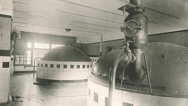 The first Farsons brewhouse