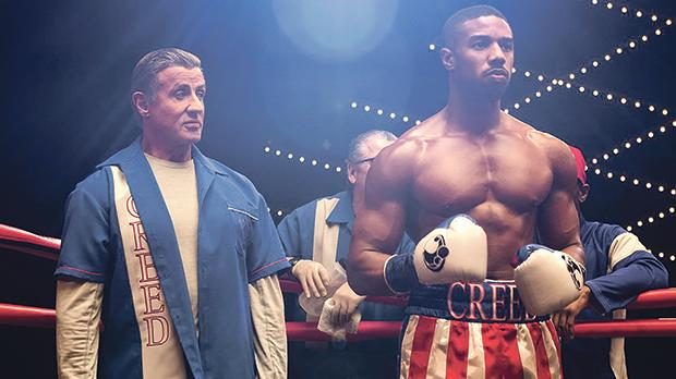 Sylvester Stallone and Florian Munteanu in Creed 2.