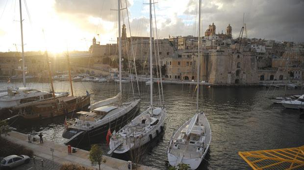 Il-Maċina seen from Grand Harbour marina. Photo: Matthew Mirabelli