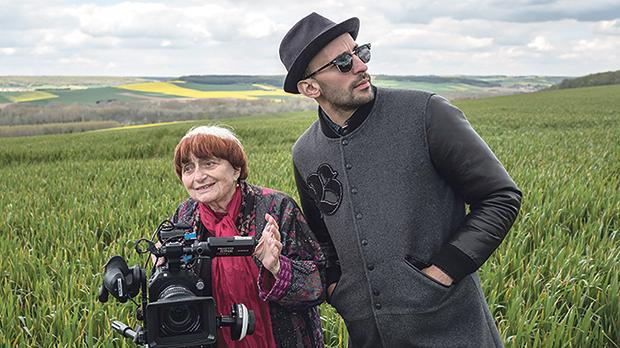 Agnés Varda's Faces Places, from the Agnés Varda season in October.