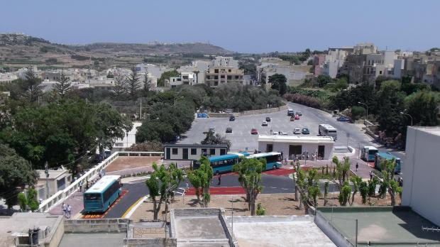 Buses at the Victoria terminus in Gozo.PIcture: Beppe Galea - mynews@timesofmalta.com